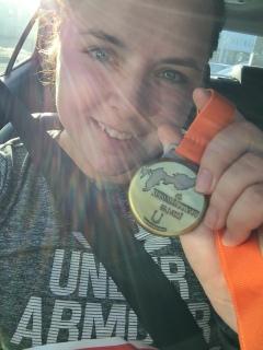 6. Juokse vähintään puolimaratonin matka, eli 21,0975 kilometriä.