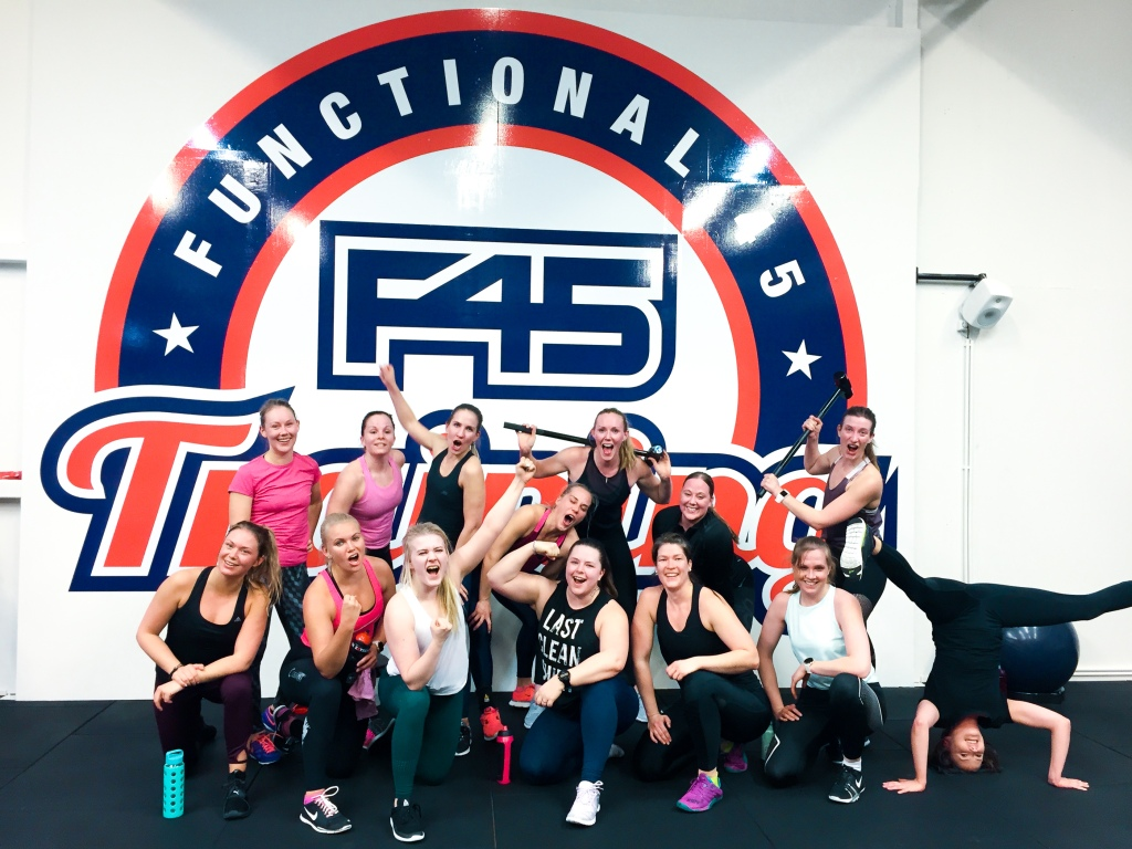 Team Fit goes F45 Training