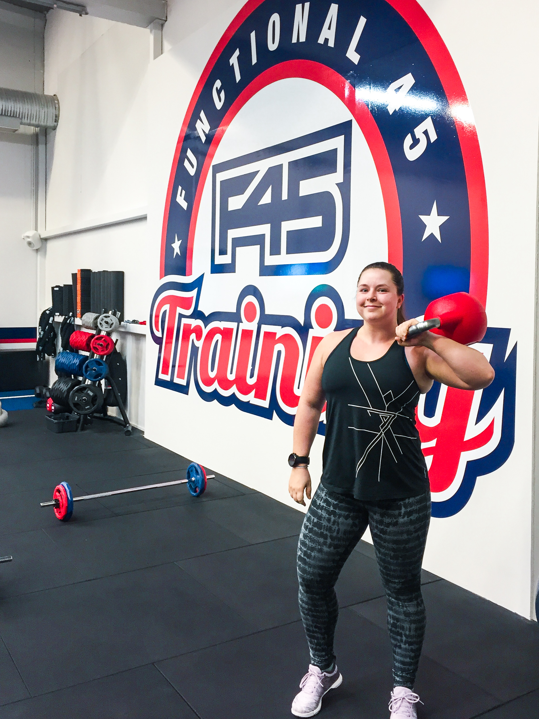 F45 Training x hoorayforsquats
