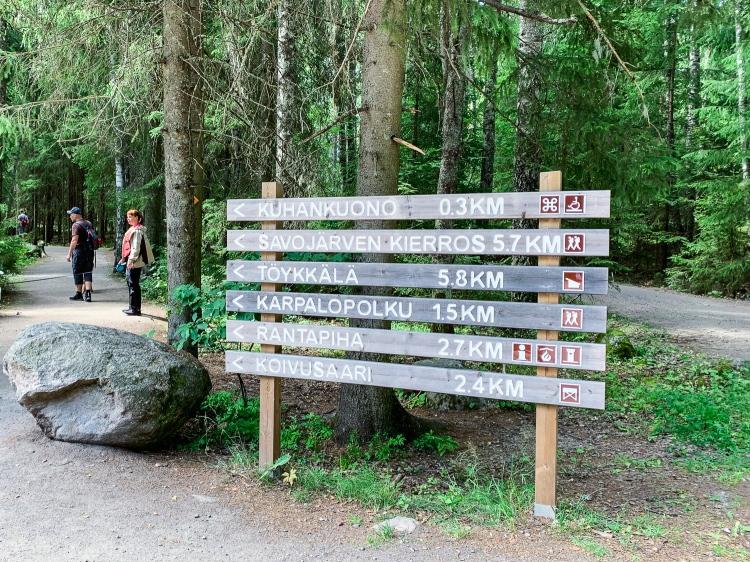 Savojärven kierros, Kurjenrahkan kansallispuisto