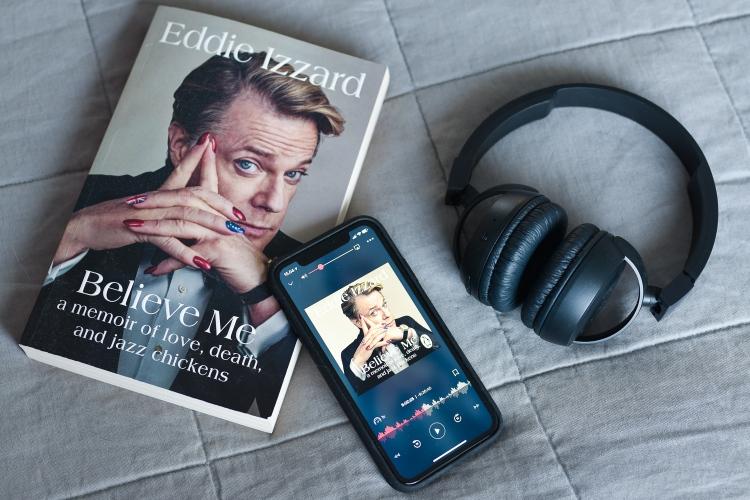 Parhaat äänikirjat 2019 - Eddie Izzard Believe me