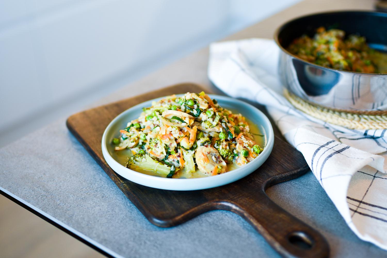 Vegaaninen tattaribowl -resepti