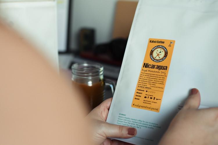 Slurp kahvi Nicaragua