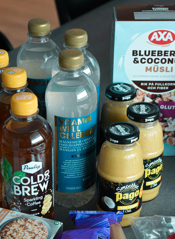 Smoothiet ja juomat Matsmartilta