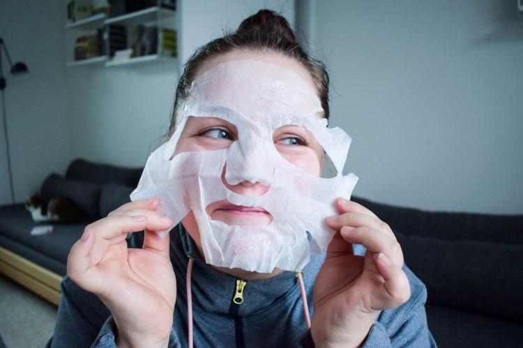 Laveran sheet mask kokemuksia