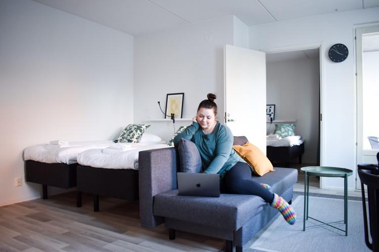 Väliaikainen kalustettu asunto Helsingistä