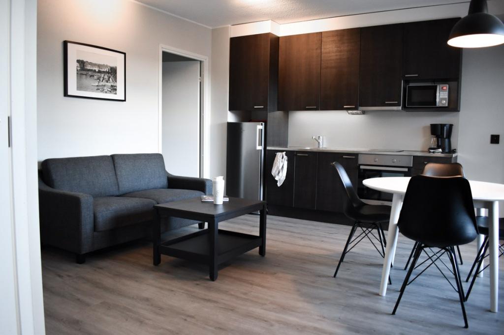 Naantali City Apartments - oleskelutila