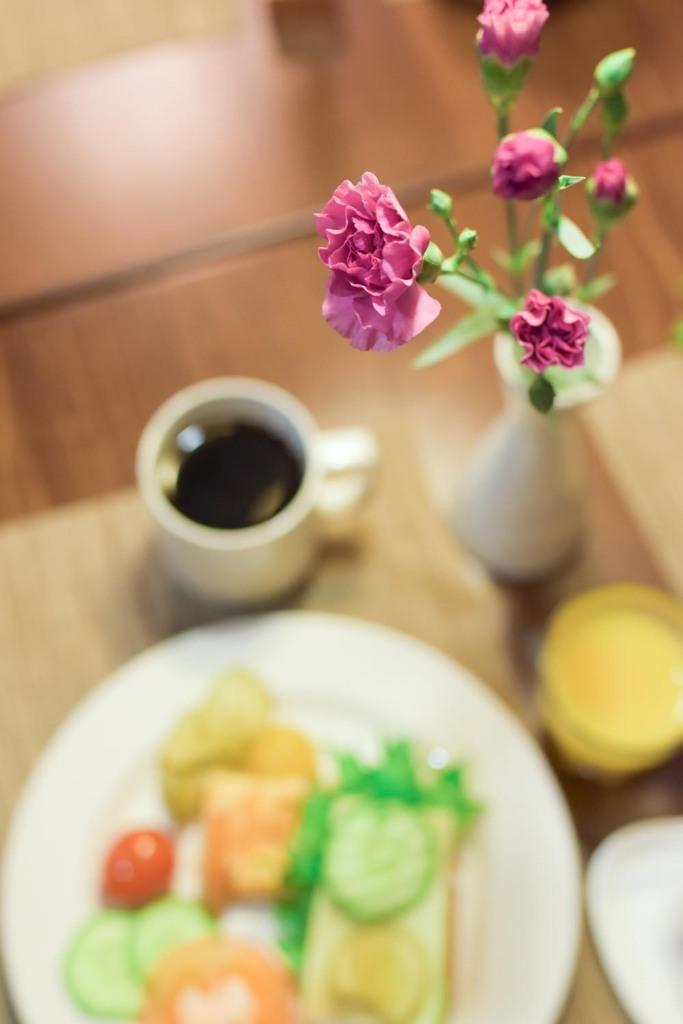 Naantalin kylpylä - aamiaisella